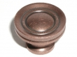 Top Knobs<br />M297 - Button faced knob 1 1/4&quot; in Antique Copper