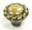 Top Knobs<br />M439 - Twist knob 1 3/8&quot; in Dark Antique Brass