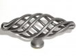 Top Knobs<br />M622 - Medium Oval Twist Knob in Pewter