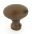 Top Knobs<br />M750 - Egg Knob 1 1/4&quot; - Oil Rubbed Bronze