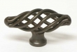 Top Knobs<br />M775 - Small Oval Twist Knob in Oil Rubbed Bronze