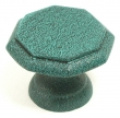Top Knobs<br />M9 - Devon knob 1 1/4&quot; in Verdigris Knobs Knobs