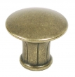 Top Knobs<br />M912 - Lund Knob 1 1/4&quot; - German Bronze