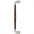 Turnstyle Designs<br />CF1608 - Combination Leather Goose Neck, Door pull, Tube Split Stitch In