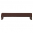Turnstyle Designs<br />H1192 - Saville Leather, Cabinet D Handle, Bench, Choose Center to Center