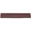 Turnstyle Designs<br />L1185 - Mortice Wing Leather, Cabinet pull handle, Large