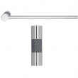 Turnstyle Designs<br />P1222 - Recess Amalfine, Towel rail, Shagreen