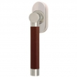 Turnstyle Designs<br />R1101/R2554 - Recess Leather, Tilt and turn window handle, Barrel Stitch In