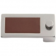 Turnstyle Designs<br />R1990 - Recess Leather, Push button cabinet pull, Dive