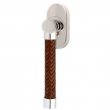Turnstyle Designs<br />R2531/R2560 - Recess Leather, Tilt and turn window handle, Woven Barrel