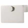 Turnstyle Designs<br />S1989 - Solid, Push button cabinet pull, Ledge
