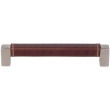 Turnstyle Designs<br />T1361 - Saddle Leather, Cabinet D handle, Square D