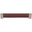 Turnstyle Designs<br />T1880 - Saddle Leather, Cabinet pull handle, Side stitched slim