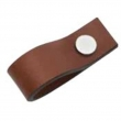 Turnstyle Designs<br />UP1189 - Leather Plain Strap, Cabinet pull handle, Loop