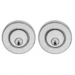 Valli Valli<br />101RPS - 101 RPS Plain Stainless Steel Deadbolt Double Cylinder
