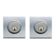 Valli Valli<br />101RQ Solid Brass - 101 RQ Square Deadbolt Double Cylinder