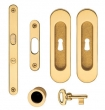 Valli Valli<br />K1205 - K 1205 Tancredi Series Keyed Pocket Door Lock