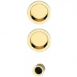 Valli Valli<br />K4202 - K 4202 Pocket Door Flush Pulls with Recessed Finger Pull Set