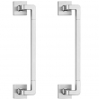 Valli Valli<br />K368/K368S back to back - Fusital K368/K368S AC4 Duemilasei Series Solid Brass Pulls 11 13/16&quot; C to C