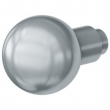 FSB Door Hardware <br />0802 IN STOCK - 0802 Stainless Steel Fixed Knob
