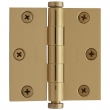 "Baldwin<br />1030.I SOLID BRASS RESIDENTIAL - 3"" x 3"" SQUARE CORNER HINGE"