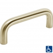 Linnea Stainless Steel<br />111-C - Cabinet Pull Stainless Steel or Brass 612mm