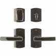 "Rocky Mountain Hardware<br />E30503/E30503 - Entry Dead Bolt/Spring Latch Set - 2-1/2"" X 4-1/2"" Convex Escutcheons"