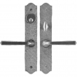 Iron Mortise Entrance Lever Set - Single Cylinder