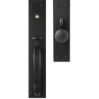 Iron Mortise Entrance Handle Set - Single Cylinder