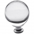 Baldwin<br />4302.260 IN STOCK  - Crystal Knob - Polished Chrome