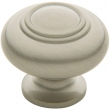 Baldwin<br />4446.150.bin IN STOCK  - Ring Deco Knob - Satin Nickel