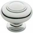 Baldwin<br />4446.260.bin IN STOCK  - Ring Deco Knob - Polished Chrome