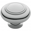 Baldwin<br />4447.260.bin IN STOCK  - Ring Deco Knob - Polished Chrome