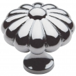 Baldwin<br />4459.260.bin IN STOCK - Melon Knob - Polished Chrome