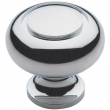 Baldwin<br />4493.260.bin IN STOCK  - Deco Knob - Polished Chrome