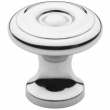 Baldwin<br />4650.260.bin IN STOCK  - Colonial Knob - Polished Chrome
