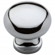 Baldwin<br />4704.260.bin IN STOCK - Classic Knob - Polished Chrome