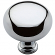 Baldwin<br />4709.260.bin IN STOCK - Classic Knob - Polished Chrome