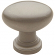 Baldwin<br />4910.150.bin IN STOCK  - Oval Knob - Satin Nickel