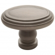 Baldwin<br />4915.150.bin IN STOCK  - Decorative Oval Knob - Satin Nickel