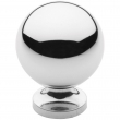 Baldwin<br />4960.260.bin IN STOCK  - Spherical Knob - Polished Chrome