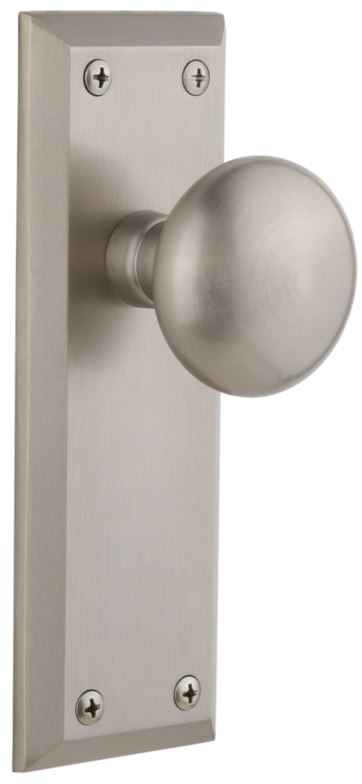 5th Avenue Plates in Satin Nickel