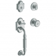 Baldwin<br />85305 DBLC - Canterbury Sectional Double Cylinder Handleset with Interior Knob