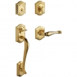 Baldwin<br />85327 LENT - Bethpage Sectional Single Cylinder LH Entry Handleset with Lever