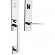 Baldwin<br />85391 FDX - Minneapolis 3/4 Escutcheon Emergency Egress Full Dummy Handleset Less Lever