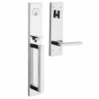 Baldwin<br />85392 LFD - Minneapolis Full Escutcheon Handleset with 5162 Lever - Left Hand Full Dummy Set