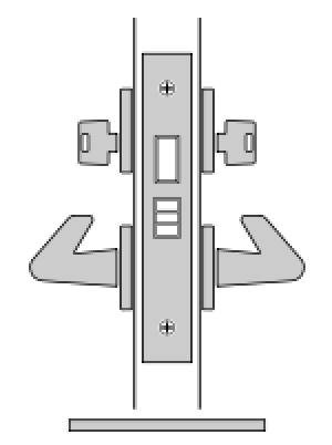 FSB Standard Mortise Lock Body
