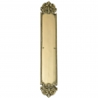 Brass Accents<br />A04-P3240 - Fleur De Lis Collection Push Plate