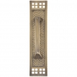 Brass Accents<br />A05-P5351 - Arts &amp; Crafts Collection Pull with Back Plate