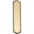 Brass Accents<br />A06-P0250 - Trafalgar Collection Push Plate